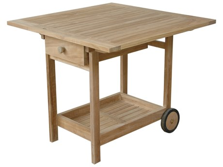 Anderson Teak Danica Serving Table Trolley AKTR005