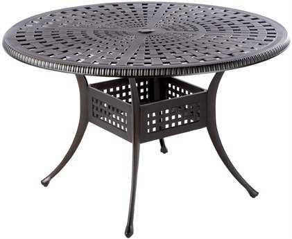 Alfresco Home Pilot Cast Aluminum Wicker 5 Piece Dining Set