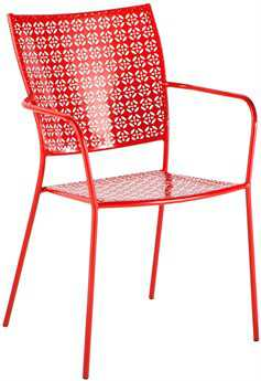 Alfresco Home Martini Steel Stackable Bistro Chair - Set of 2
