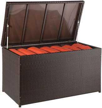 Alfresco Home Simplicity Wicker Storage Box