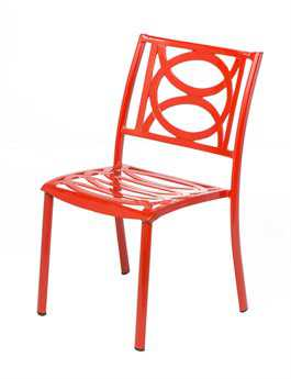 Alfresco Home Lasso Cafe Set in Candy Red