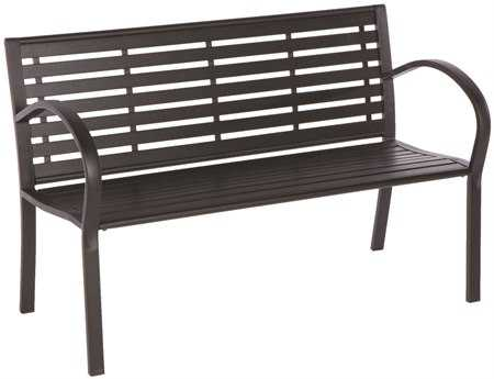 Alfresco Home Wicklow Garden Steel Bench