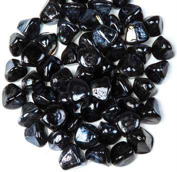 Alfresco Home Black Diamond Luster Fireglass - 10 lb Bag
