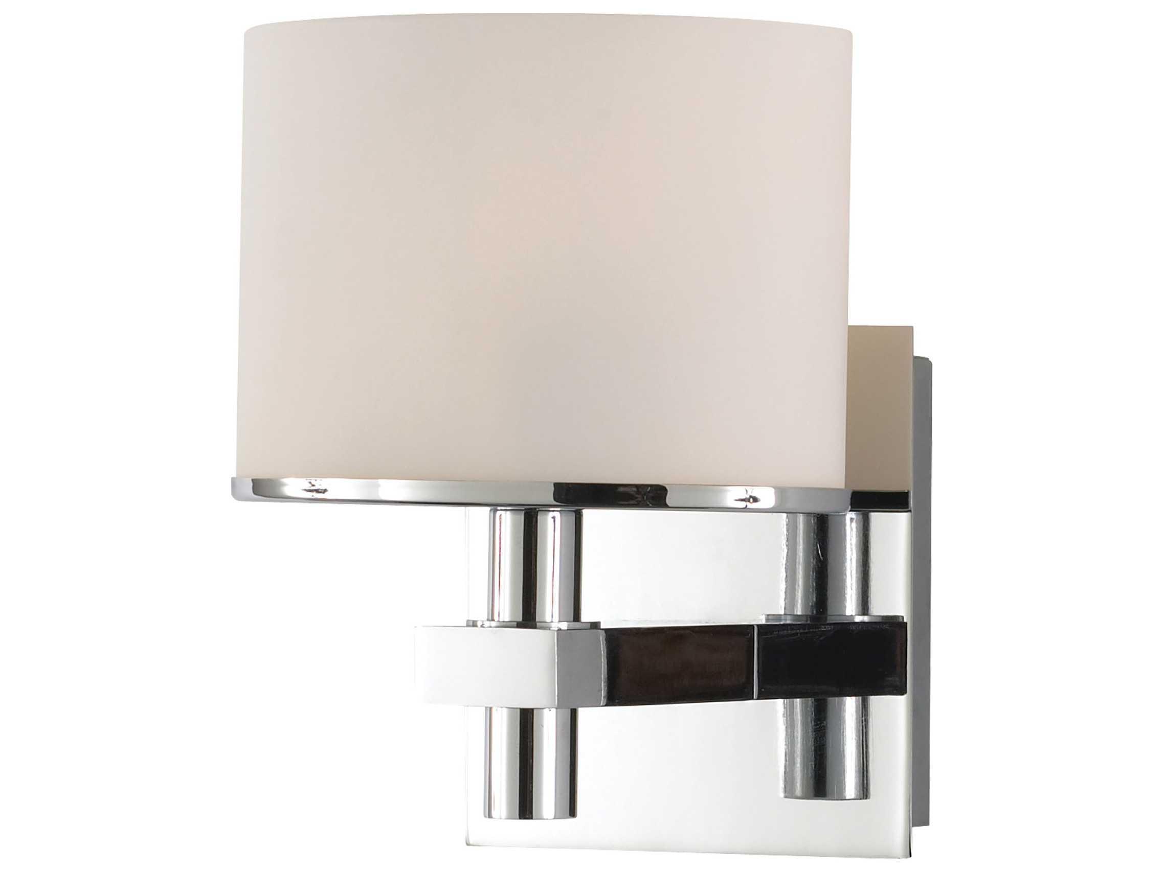 Vanity Light Temperature : Alico Ombra White Opal Glass Vanity Light ALCBV5111015