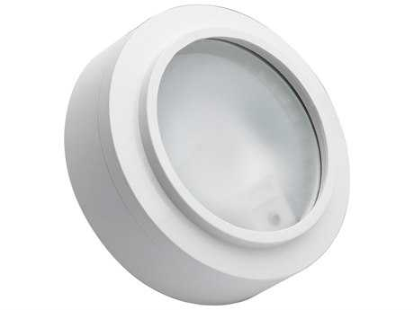 Alico Zeepuk White & Frosted Glass 3.13'' Wide Puck Cabinet Light
