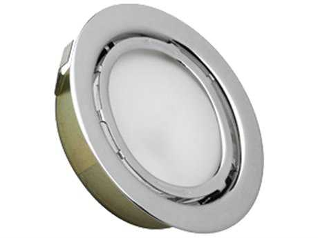 Alico Minipot Premium Chrome & Frosted Glass 2.5'' Wide Minipot Recessed Light
