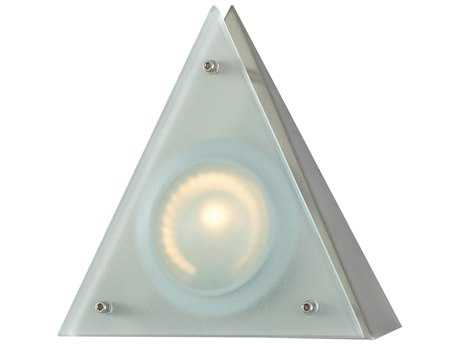Alico Zeepuk Stainless Steel & Frosted Glass 5.88'' Wide Cabinet Puck Light
