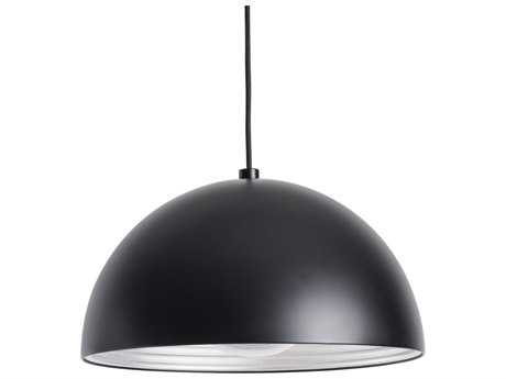 Alico Cupola Black 14'' Wide Pendant