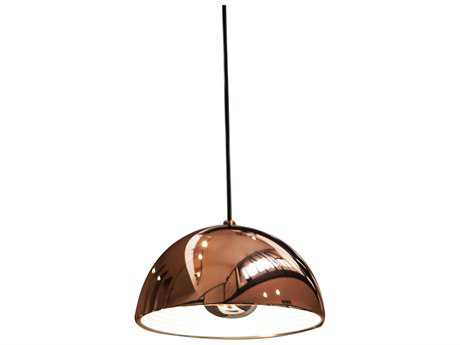 Alico Cupola Copper 14'' Wide Pendant