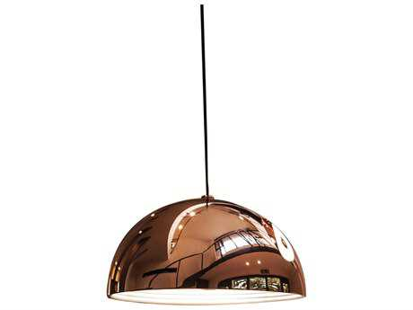 Alico Cupola Copper 19'' Wide Pendant
