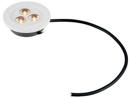 Alico Maggie White Three-Light 0.19'' Wide Recessed Puck Light