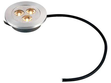 Alico Maggie Brushed Aluminum Three-Light 0.19'' Wide Recessed Puck Light