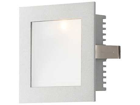 Alico Gray & Opal Glass LED Recessed Wall Trim