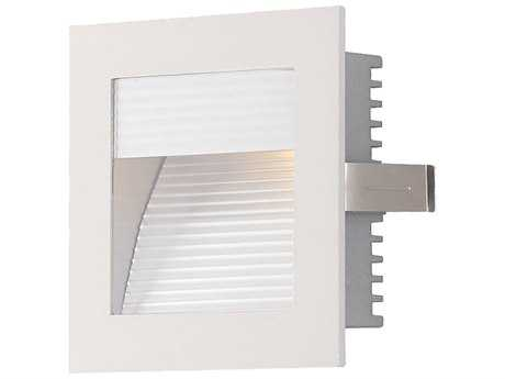 Alico White LED Recessed Wall Trim