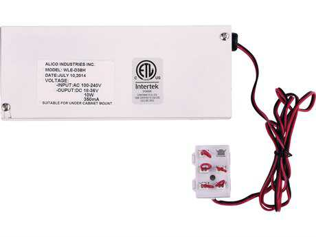 Alico Driver Box & Harness Adapter 10W 350Ma LED Class II Electronic