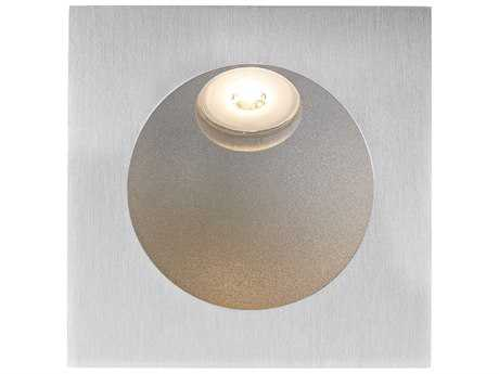 Alico Zone Aluminum & Opal White Glass Outdoor Step Light