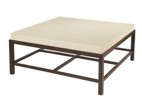 Allan Copley Designs Spats 42 Square Espresso & White Coffee Table