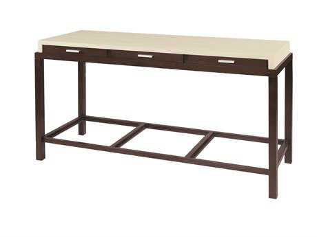 Allan Copley Designs Spats 54 x 20 Rectangular Espresso & White Console Table