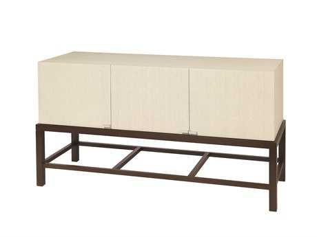 Allan Copley Designs Spats 54 x 20 Espresso & White Three Door Buffet