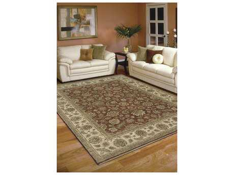 Amer Rugs Antiquity Red Rectangular Area Rug