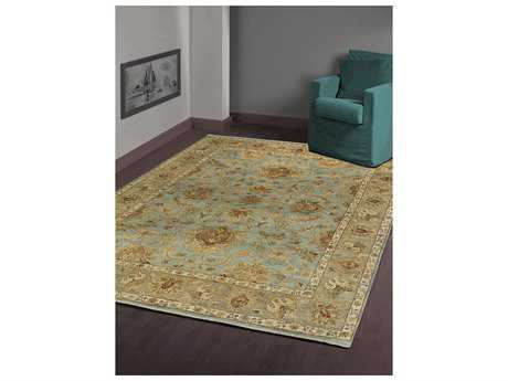 Amer Rugs Antiquity Aqua Rectangular Runner Area Rug