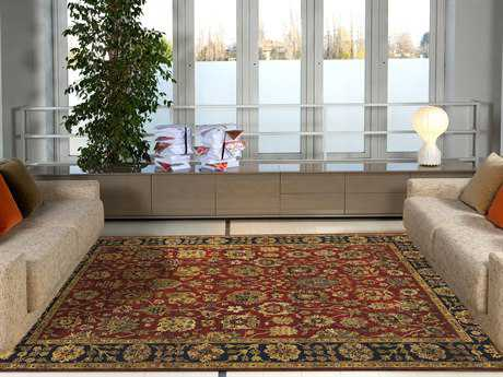 Amer Rugs Antiquity Rust Rectangular Runner Area Rug