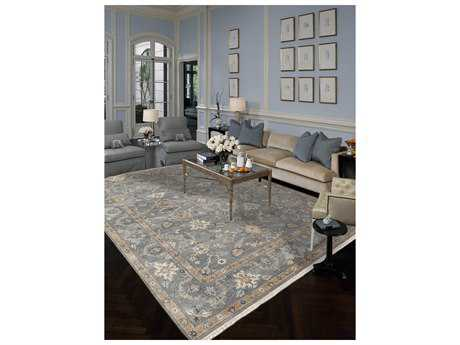 Amer Rugs Artisan Foggy Gray Rectangular Area Rug