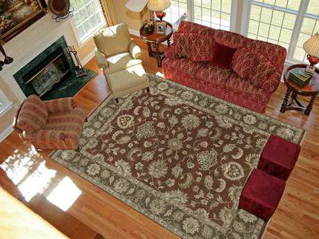 Amer Rugs Artisan Red Rectangular Area Rug