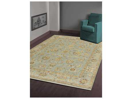 Amer Rugs Artisan Ice Blue Rectangular Area Rug