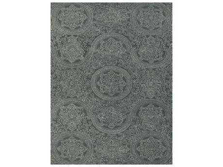 Amer Rugs Ascent Dove Gray Rectangular Area Rug