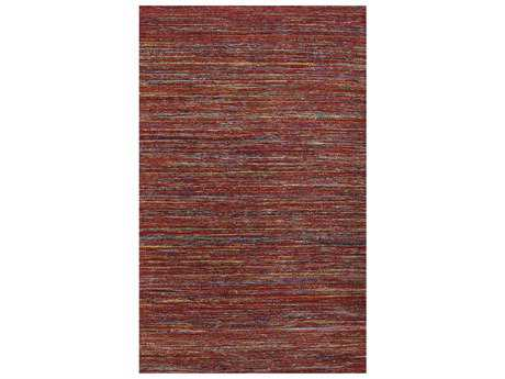 Amer Rugs Banaras Rectangular Red Area Rug