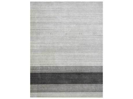 Amer Rugs Blend Light Gray Rectangular Area Rug