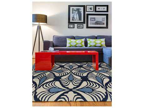 Amer Rugs Bombay Navy Rectangular Area Rug