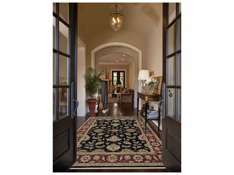 Amer Rugs Luxor Ebony Rectangular Runner Area Rug