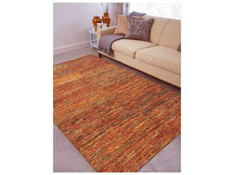 Amer Rugs Chic Orange Rectangular Area Rug