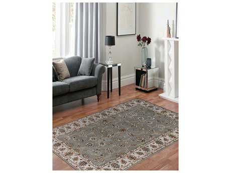 Amer Rugs Eternity Silver Sand Rectangular Area Rug