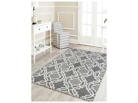 Amer Rugs Glow Light Gray Rectangular Area Rug