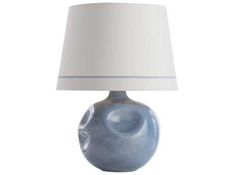 Arteriors Home Calypso Dusty Blue Buffet Lamp