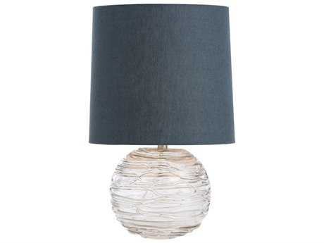 Arteriors Home Anoma Clear Glass Table Lamp