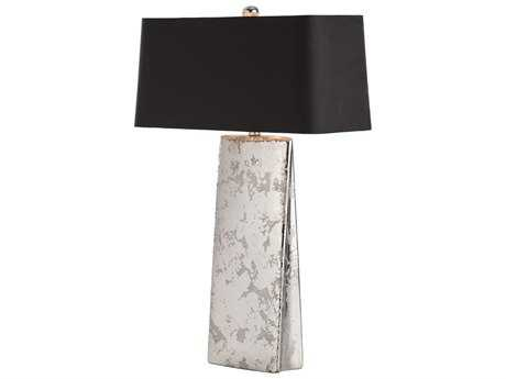 Arteriors Home Ravi Sliver Splatter & Black Buffet Lamp
