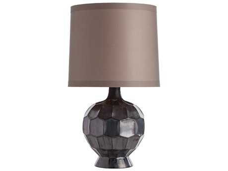 Arteriors Home Bryant Gunmetal & Taupe Sheer Buffet Lamp