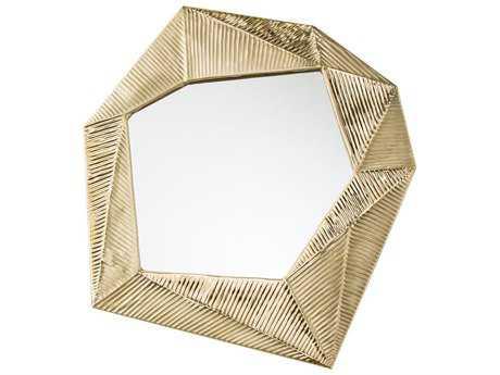 Arteriors Home Pitney Matte Brass 24.5''W x 27.5''H Wall Mirror