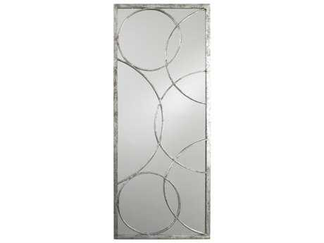 Arteriors Home Nikita Silver Leaf 18''W x 45''H Rectangular Wall Mirror