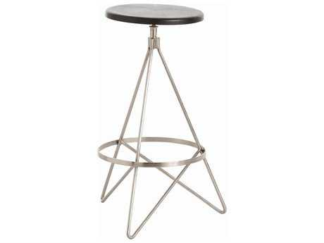 Arteriors Home Wyndham Black Stain Counter Stool