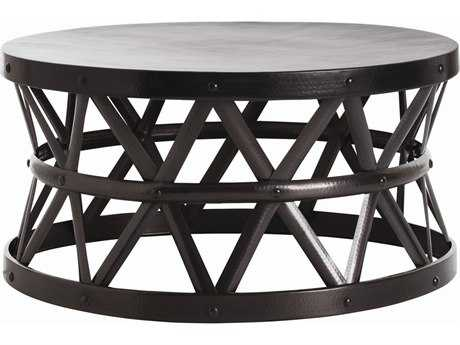 Arteriors Home Stanley English Bronze 36'' Round Coffee Table