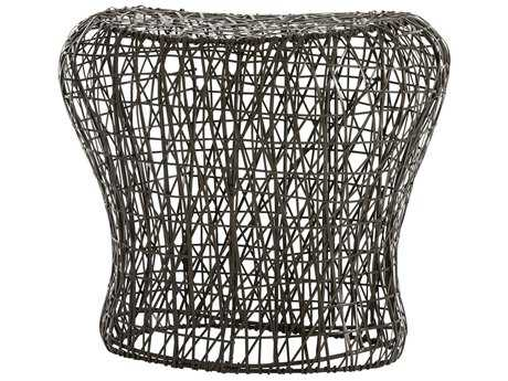 Arteriors Home Calder Distressed Bronze Accent Stool