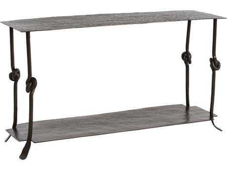 Arteriors Home Arnot Natural Iron 58''L x 19''W Rectangular Console Table