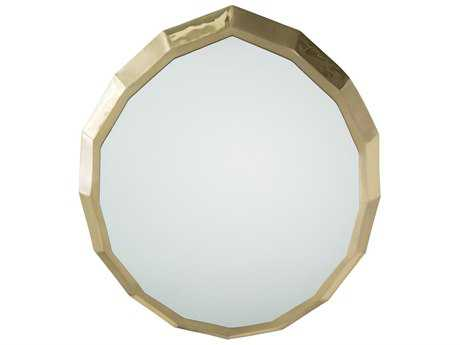 Arteriors Home Abigail Polished & Matte Brass 22''W x 24''H Wall Mirror