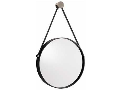 Arteriors Home Expedition Black & Polished Nickel 18''W x 30.5''H Wall Mirror