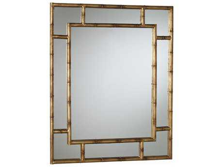 Arteriors Home Porter Antique Gold leaf 43''W x 54''H Rectangular Wall Mirror